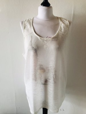 Janina Knitted Top natural white