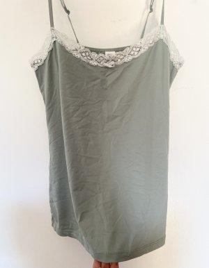 Gina Benotti Lace Top white-sage green