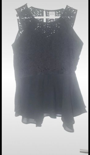 Vero Moda Peplum Top black
