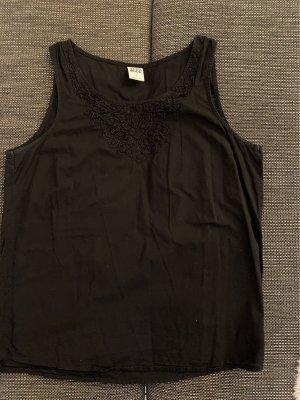 Vero Moda Top di merletto nero