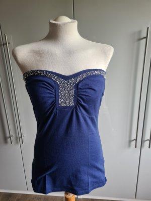 Melrose Off the shoulder top blauw