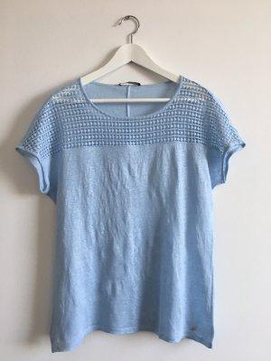 Brax Gebreid shirt azuur