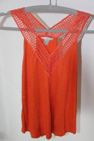H&M Tanktop oranje
