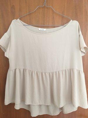 American Vintage Camicia a tunica beige chiaro
