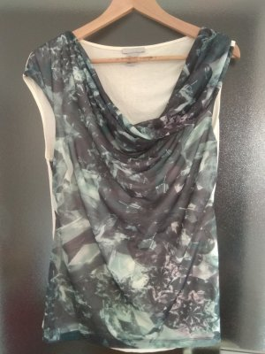 H&M Cowl-Neck Top multicolored