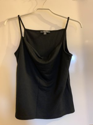 Esprit Top z dekoltem woda czarny
