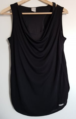 Bench Cowl-Neck Top black