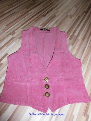 Top-moderne Weste rosa