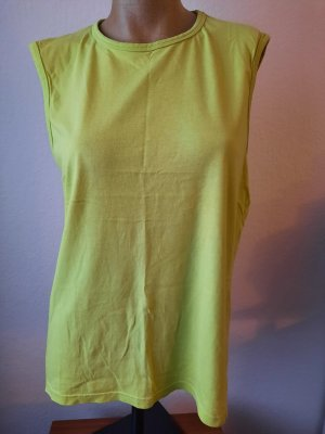 angelo litrico Basic Top lime yellow-meadow green