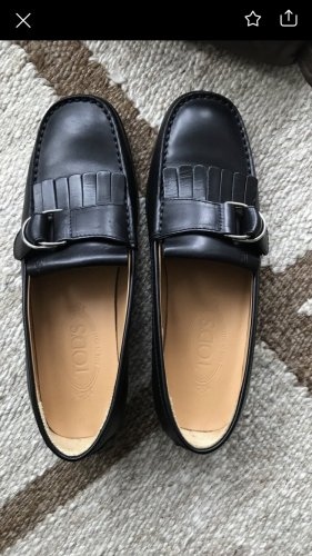 Tods Chaussure Oxford noir