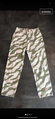 TOP! Nie getragene Zebra Hose