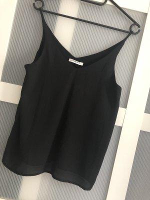 Top Oberteil Glamorous Bluse Basic schwarz Größe 38 M