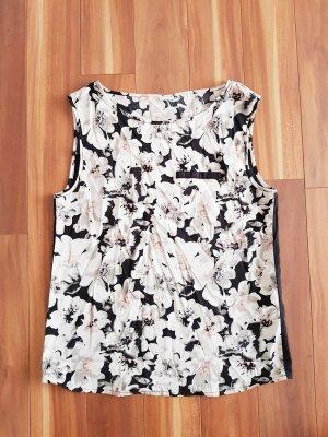 Top Oberteil in schwarz mit Blumenmuster Gr. 38 Jacqueline de Yong