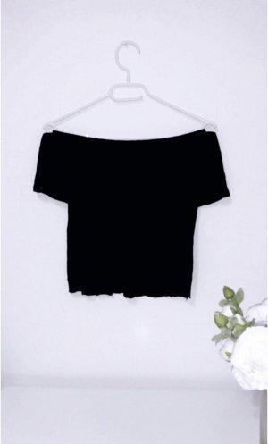 Bershka Hauts épaule nues noir