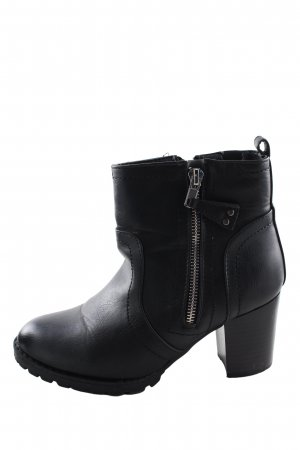 top or Ankle Boots schwarz Casual-Look
