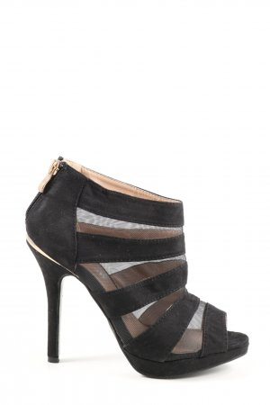 top or High Heels schwarz Elegant