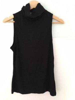 H&M Top de cuello de cisne negro