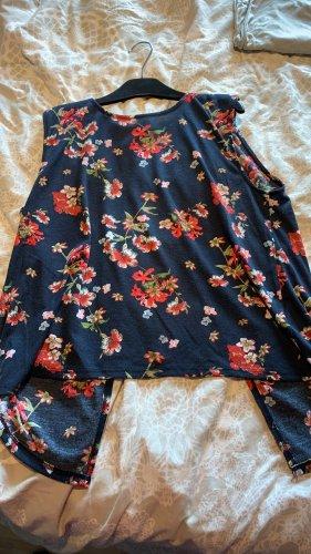 Takko Fashion Top schiena coperta multicolore