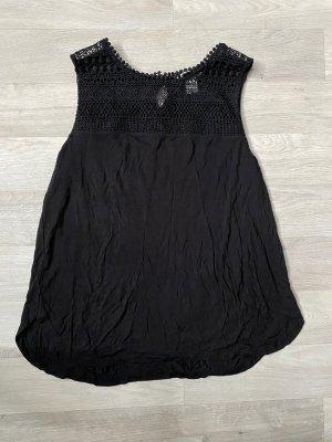 H&M Top de encaje negro