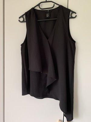Top, schwarz, Gr. 36, H&M, neuwertig
