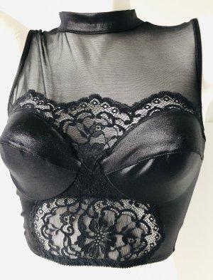 Bustier Top black polyamide