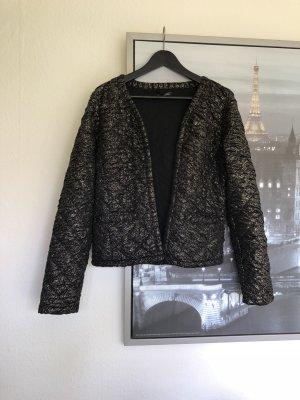 Top Secret Blazer in schwarz mit goldenen Details