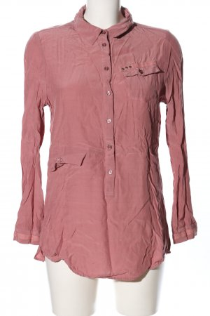 Top Secret Langarm-Bluse pink Elegant