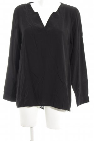 Top Secret Schlupf-Bluse schwarz Casual-Look