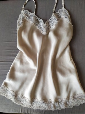 Intimissimi Silk Top pink-natural white silk