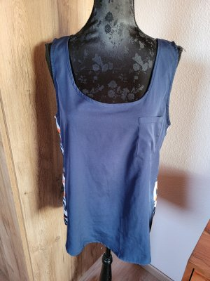 Only Basic topje blauw