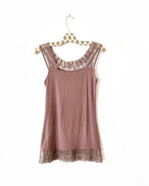 top • shirt • cream • schlammfarben • basics
