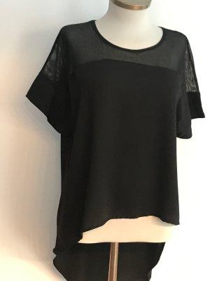 0039 Italy Camisa de malla negro