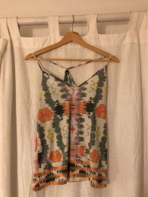 Top / Shirt mit bunten Batik-Muster