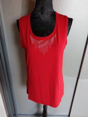 Gracia Haut basique rouge brique