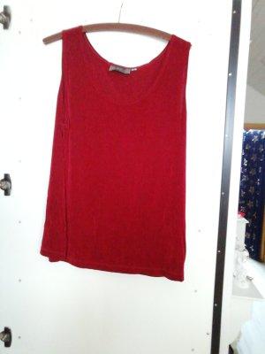 top shirt slinky Größe 44/46 rot
