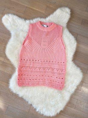Zara Crochet Top pink