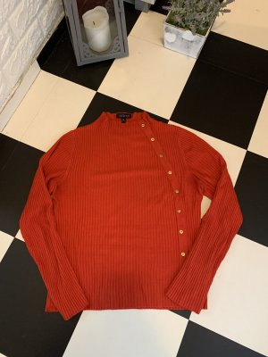 Topshop Knitted Sweater red