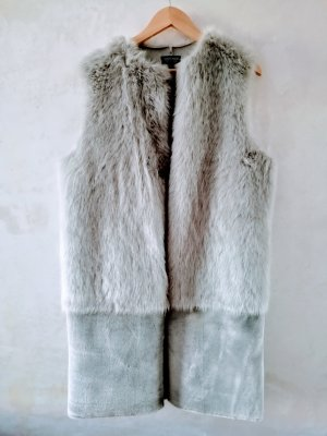 Top shop Faux fur Gilet L