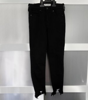 Top Shop Jamie Jeans Schwarz Petite W26/L28