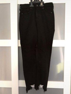 Top Shop Jeans Schwarz petite W26/L28