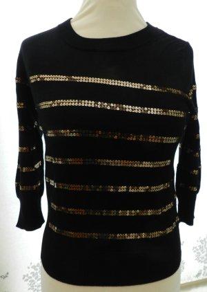 Top Shop Paillettenshirt, Shirt - Gr 38