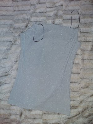 H&M Top de tirantes finos gris claro