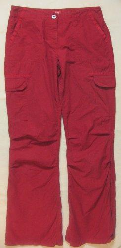 Top Sommerhose/Pants von EDC by ESPRIT in dunkelrot, Größe DE 36 Regular
