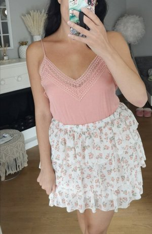 Top Spitze Peach Spitze Lace blogger hipster boho