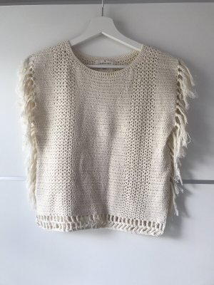 Springfield Crochet Top natural white