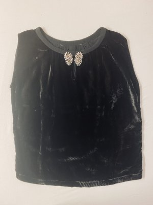 Stefanel Tunic black velvet