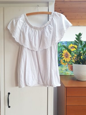 NKD Frill Top white cotton