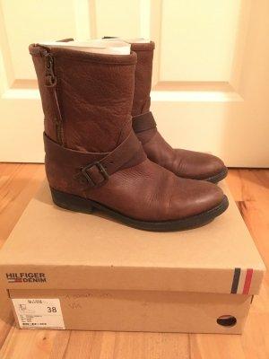 Tommy Hilfiger Short Boots dark brown-brown