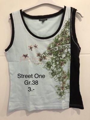 Street One Hauts épaule nues turquoise