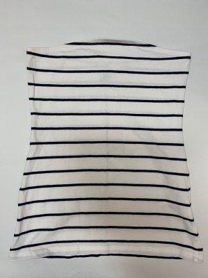 H&M Bustier wit-zwart